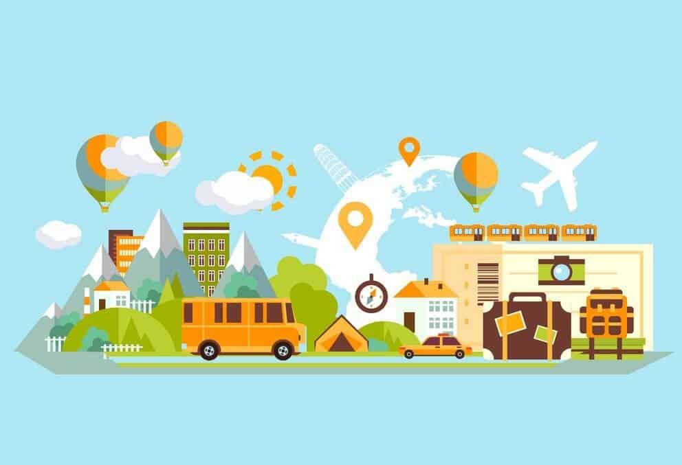 Websites for travel agencies