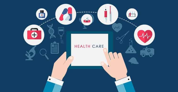 Website for health industry