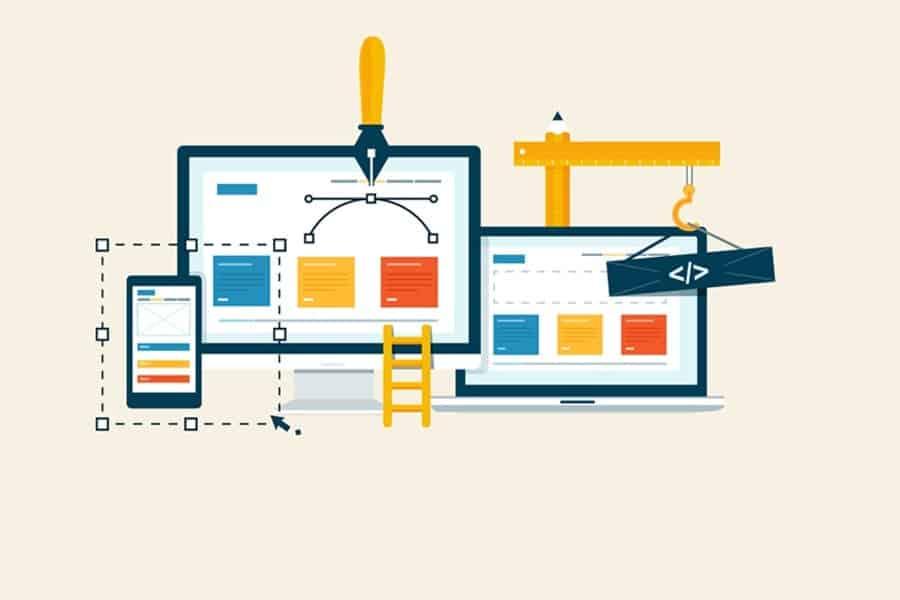 Website navigable structure