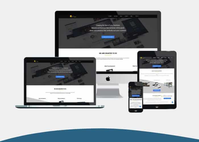 Website Design Trends 2019;Responsive design