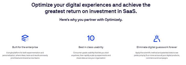 Website Optimization Tool: Optimizely