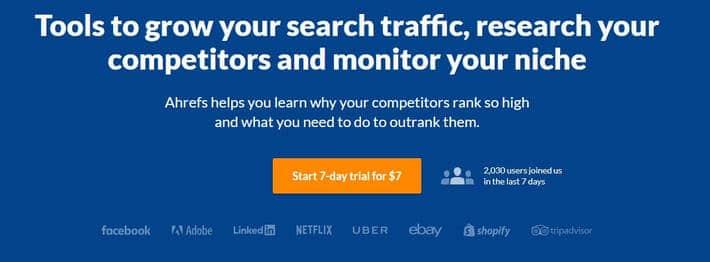 Website/SEO Optimization Tool: Ahrefs