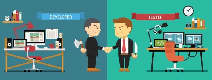 Difference between developer checkup vs QA Engineer